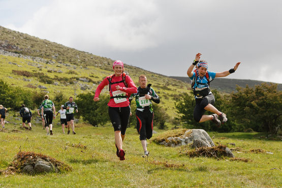The West Wicklow Roar Adventure race